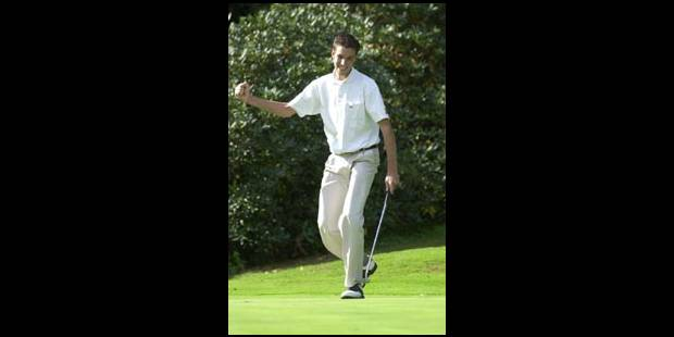 Hervé Gevers, entre golf et études...