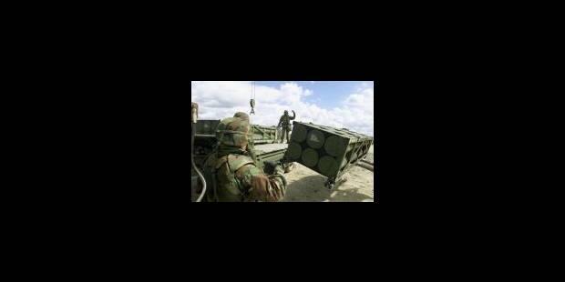 Le serment militaire européen - La Libre