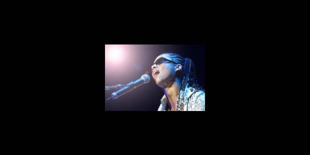 Alicia Keys hausse le tempo - La Libre