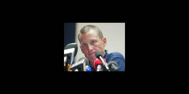 Armstrong : ?Le Tour, et puis les Jeux? - La Libre