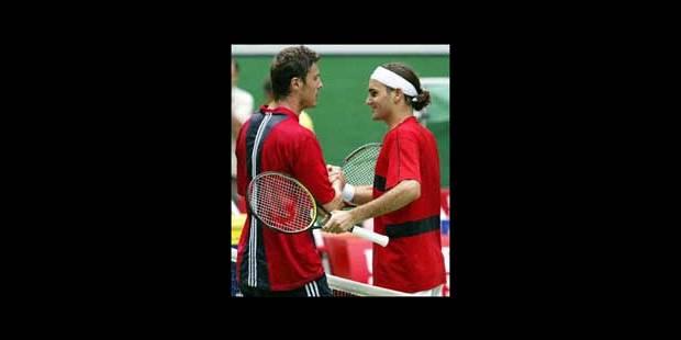 Federer sans peine face à un Safin épuisé - La Libre