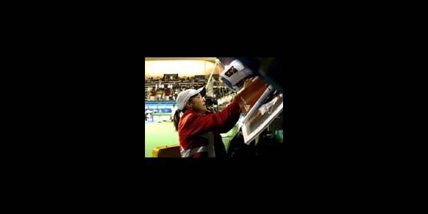 Justine Henin en balade à Dubaï
