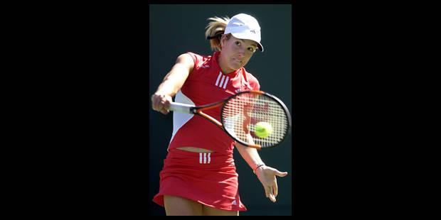Justine Henin n'ira pas à Miami - La Libre