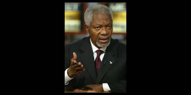 Annan rend hommage aux journalistes tués - La Libre