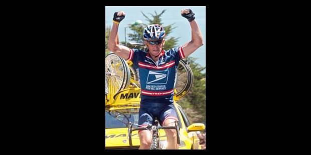 Lance Armstrong vient pour se tester - La Libre