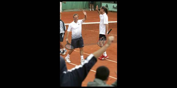 Xavier Malisse et Olivier Rochus en finale en double - La Libre