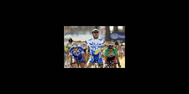 victoire de Nazon, McEwen en jaune - La Libre