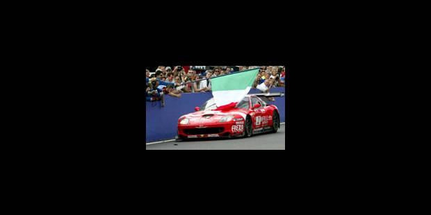 Doublé Ferrari, au rythme d'un GP - La Libre
