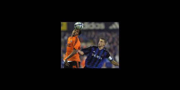 Bruges se contentera de l'UEFA - La Libre