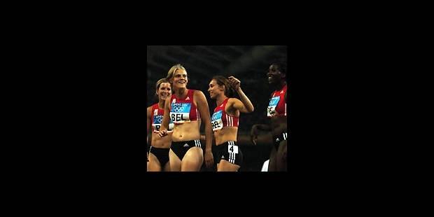L'athlétisme belge au féminin - La Libre