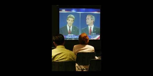 Le duel Bush-Kerry tout en images - La Libre
