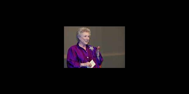 Jacqueline Bir, inoubliable Mamie Rose - La Libre