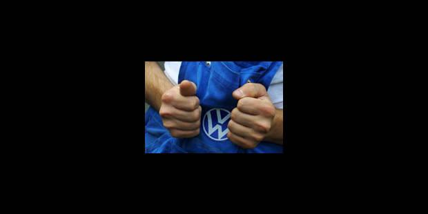 30 000 salariés de Volkswagen ont débrayé - La Libre
