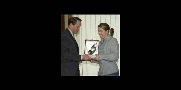 Les médaillés honorés au COIB - La Libre