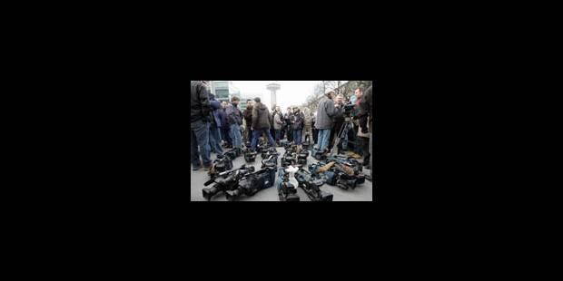 Le mouvement s'étend - préavis des journalistes TV - La Libre