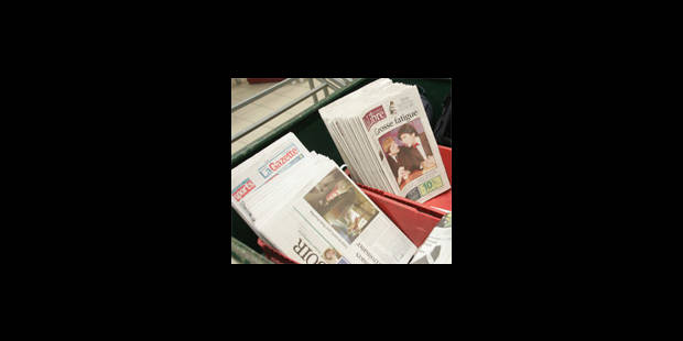 Les quotidiens francophones en forme - La Libre