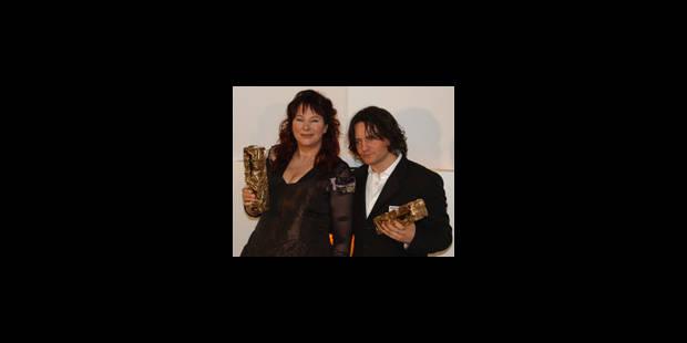Deux César pour Yolande Moreau - La Libre