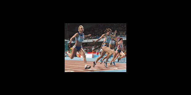 Kim Gevaert championne d'Europe