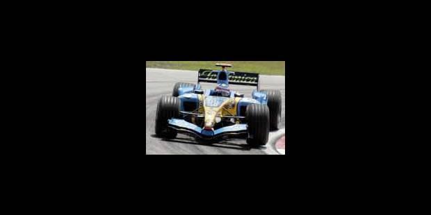 Alonso en pole devant Trulli - La Libre