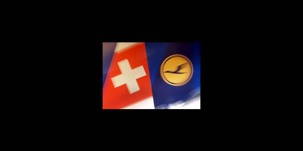 Lufthansa/Swiss: sanction du marché - La Libre