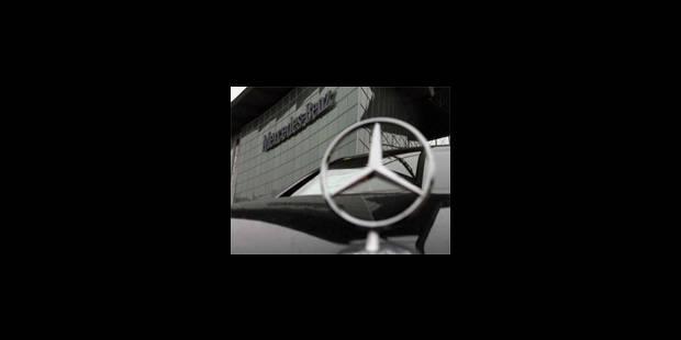20 à 25.000 Mercedes rappelées en Belgique - La Libre