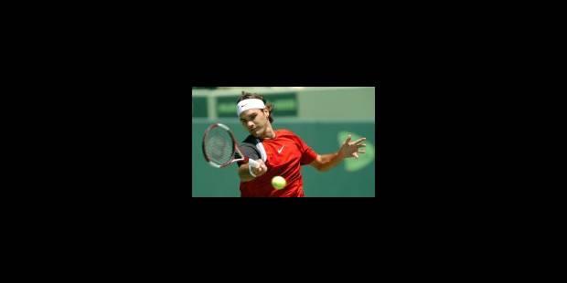 Objectif terre pour Federer - La Libre