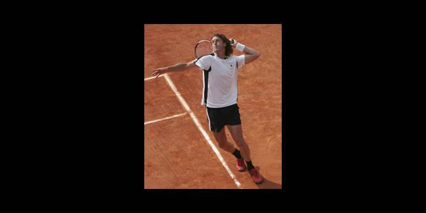 Plus de tennisman belge à Paris - La Libre