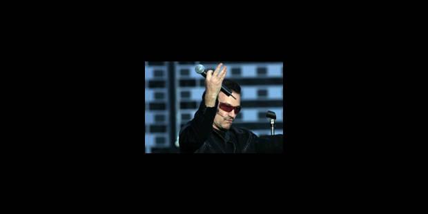 Le vertige U2 emporte Bruxelles - La Libre