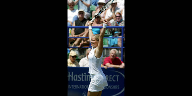 Kim Clijsters renoue avec la victoire - La Libre