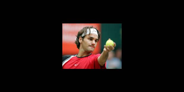Federer retrouve son jardin - La Libre