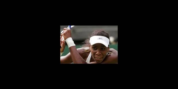 Mary Pierce réagit trop tard face à Venus Williams - La Libre