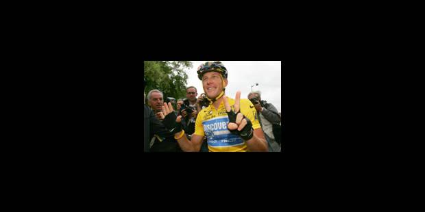 Armstrong gagne le Tour, Vinokourov l'étape - La Libre