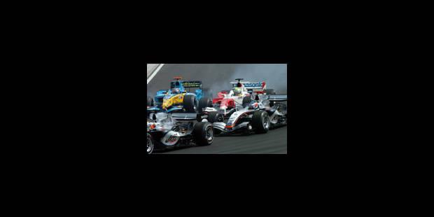 Victoire de Kimi Raikkonen - La Libre