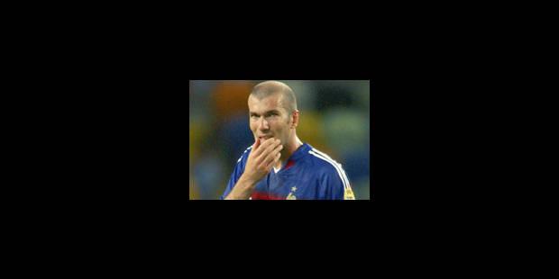 """Zinédine Zidane a entendu """"son frère"""" - La Libre"""