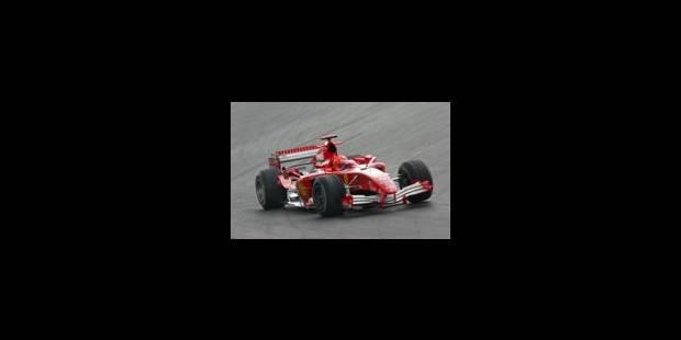 Schumacher, allié de Raikkonen? - La Libre