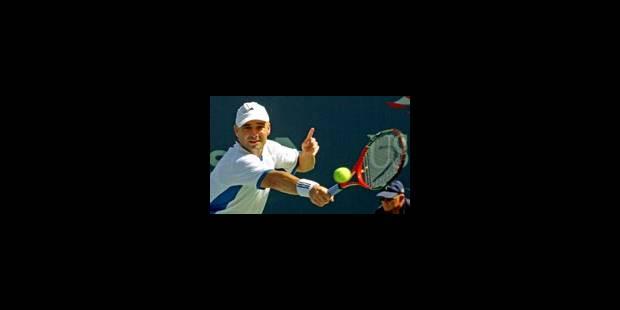 Andre Agassi en finale