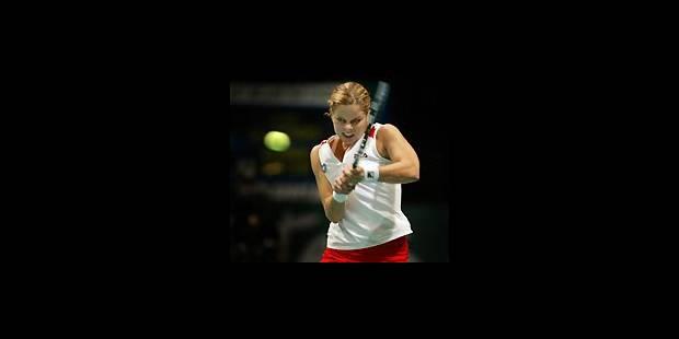 Kim Clijsters devant son public - La Libre