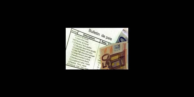 Les coûts salariaux belges augmentent plus vite que chez nos voisins - La Libre