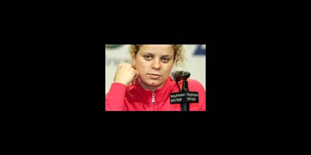 Nouvelle défaite pour Kim Clijsters - La Libre