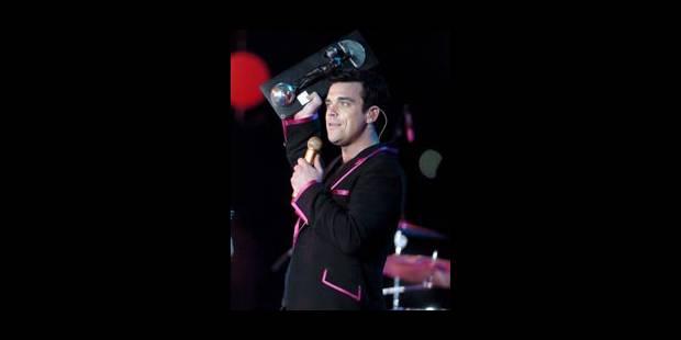 Une date en plus pour Robbie Williams - La Libre