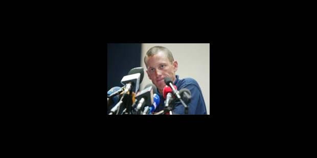 «Pas de preuve contre moi», dit Armstrong - La Libre