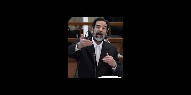 Le procès de Saddam renvoyé au 24 janvier - La Libre