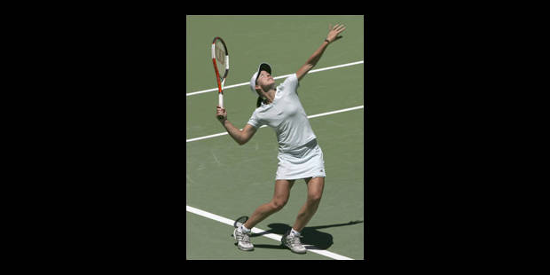 Justine Henin en huitièmes - La Libre