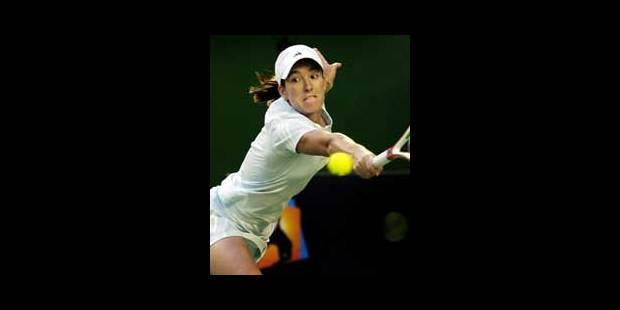 Justine Henin en demi-finale