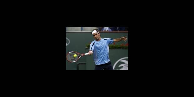 O.Rochus face à la montagne Federer - La Libre