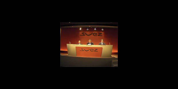 Suez-GDF: modalités pas réajustables - La Libre