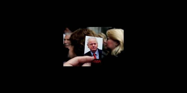 Milosevic a pris le mauvais médicament - La Libre