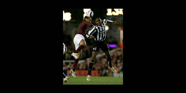 Vieira rate son retour à Highbury - La Libre