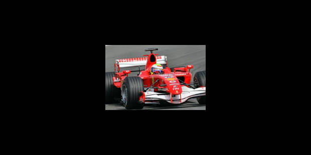 Alonso souffle la pole à Schumi - La Libre