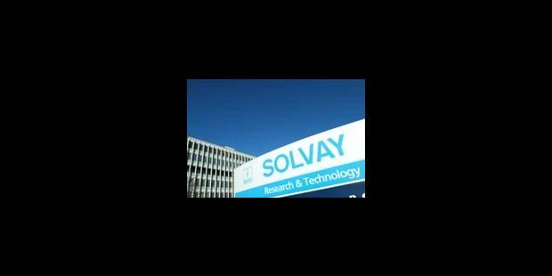 Très grosse amende pour Solvay - La Libre